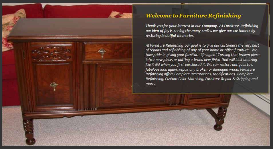 Serving Reading Ma Experts In Furniture Refinishing Services Repair And Restoration Modifications