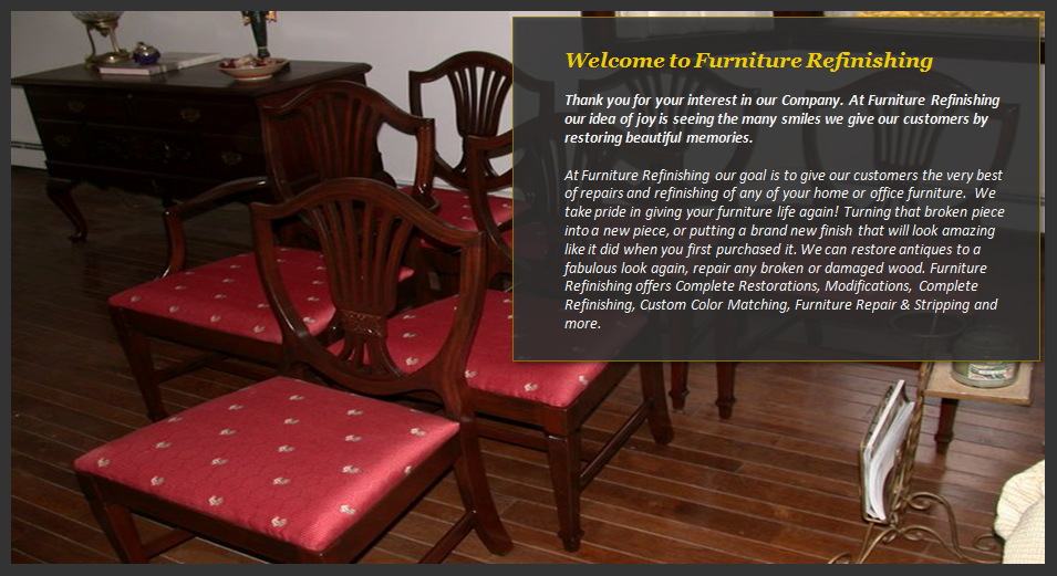 Furniture Refinishing Repair Restoration Stripping Reading Ma Upholstery Services